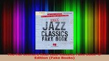 PDF Download  The Hal Leonard Real Jazz Classics Fake Book C Edition Fake Books Download Full Ebook