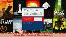 Download  Die Praxis des Verkaufs Vertriebssteuerung PreSales Sales KeyAccountManagement Ebook Frei