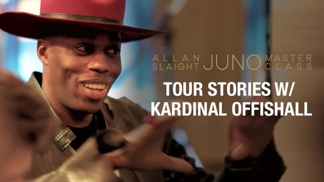 Tour Stories with Kardinal Offishall | Part 1 | Allan Slaight JUNO Master Class