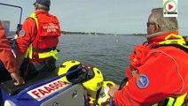 La SNS 712  à la Semaine du Golfe Morbihan - Vannes Télé