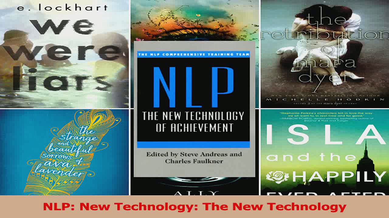 Read  NLP New Technology The New Technology Ebook Free