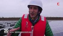 Environnement : au Japon, la plus grande centrale solaire flottante au monde est française