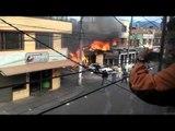 Avioneta cayó sobre una vivienda en el barrio Villaluz de Bogotá