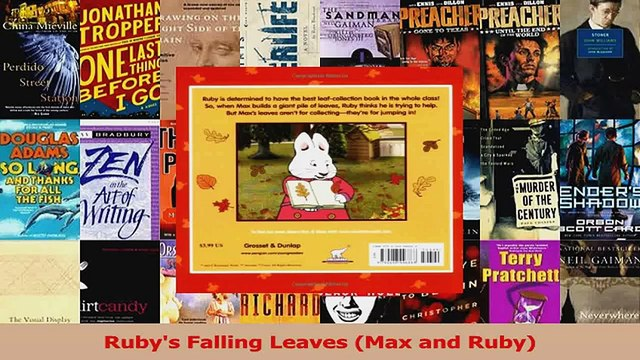 PDF Download  Rubys Falling Leaves Max and Ruby PDF Online