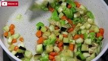 Sebzeli Pilav Tarifi - Patlıcanlı Havuçlu Pirinç Pilavı Nasıl Yapılır?