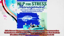 NLP Stress Management NeuroLinguistic Programming Techniques And Solutions That Relieve