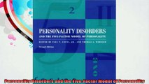 Personality Disorders and the FiveFactor Model of Personality