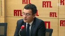"""""""Je ne crois pas que les Français se disent que François Hollande est formidable"""", selon Gérald Darmanin"""