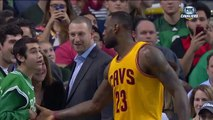 LeBron James offered his shoes to disabled Boy after NBA Game