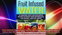 Fruit Infused Water 67 Amazing Fruit Infused Water Recipes To Boost Your Metabolism Lose
