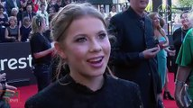 Bindi Irwin talks to SMH during the AACTA Awards about Derek Hough, DWTS and more - December 9, 2015