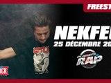 Nekfeu freestyle du vendredi 25 décembre - Planète Rap #Feu