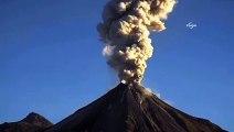 Meksika'daki yanardağ böyle patladı