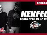 Nekfeu, 17 mn de freestyle dans Planète Rap ! #FeuRéédition