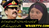 A Mother of Shaheed Student of Peshwar School Attack Gave Strong Message to General Raheel and Nawaz Sharif