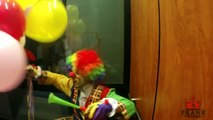 Killer Clown VS REAL Birthday Clown Prank! Funn Videos 2014 - Best Pranks