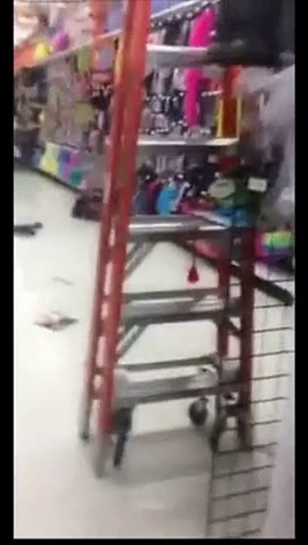 Crazy Chick High On Drugs Has a Bad Trip In a Store-Best Entertainment Videos & Clips II Funny &