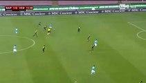 Coupe d'Italie: le but de mertens face à Vérone