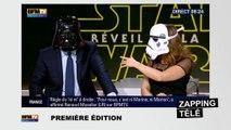 Quand les journalistes des chaînes d'info se lâchent pour la sortie de Star Wars