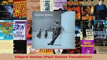 PDF Download  Edgard Varèse Paul Sacher Foundation Download Online