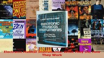 PDF Download  Electronic Musical Instruments What They Do How They Work Download Full Ebook