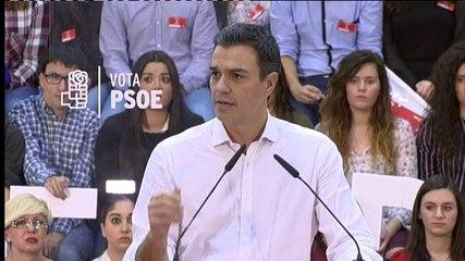 Pedro Sánchez (PSOE) condena la agresión a Rajoy