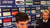 Cataldi in zona mista dopo Lazio-Udinese di Coppa Italia (17.12.2015)