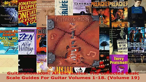 Download  Guitaronomicon All the scales The collected Basic Scale Guides For Guitar Volumes 118 Ebook Free