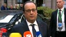 """Hollande à Cameron avant le sommet européen : """"Il n'est pas acceptable de revoir ce qui fonde les engagements européens"""""""