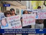 Los 21 del Arbolito serán liberados después de pagar multa