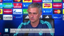Mourinho sacked as Chelsea manager: club