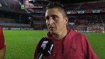 """""""Siempre intentamos jugar bien"""". Independiente 4 - Belgrano 1. Liguilla Pre Libertadores 2015. FP"""
