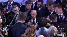 Russian President Vladimir Putin Calls Donald Trump 'Bright and Talented'