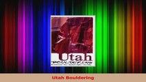 Download  Utah Bouldering PDF Free