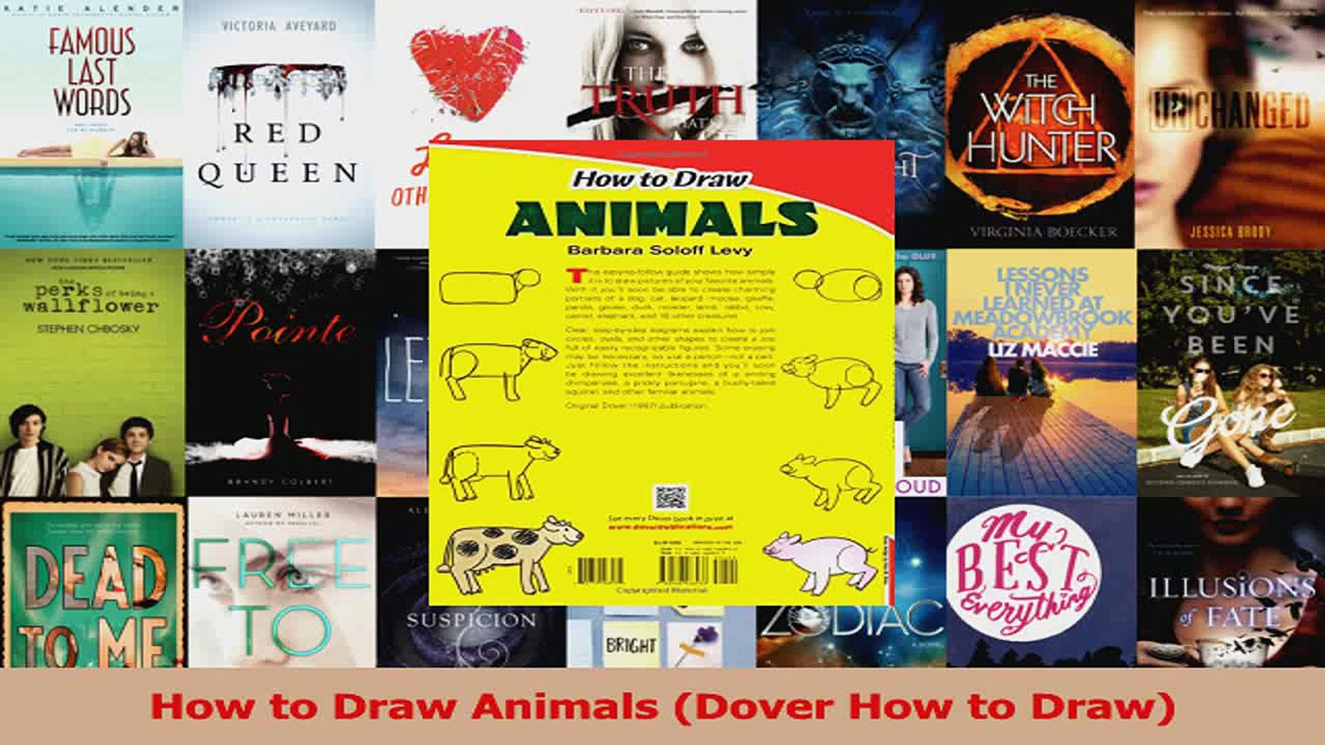 How to Draw Animals Dover How to Draw PDF