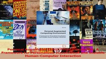 Read  Personal Augmented Computing Environment A Framework for Personalized Visualization and Ebook Free