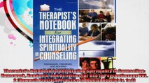 Therapists Notebook for Integrating Spirituality in Counseling Homework Handouts and