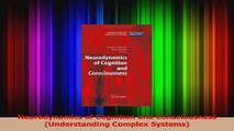 Neurodynamics of Cognition and Consciousness Understanding Complex Systems PDF