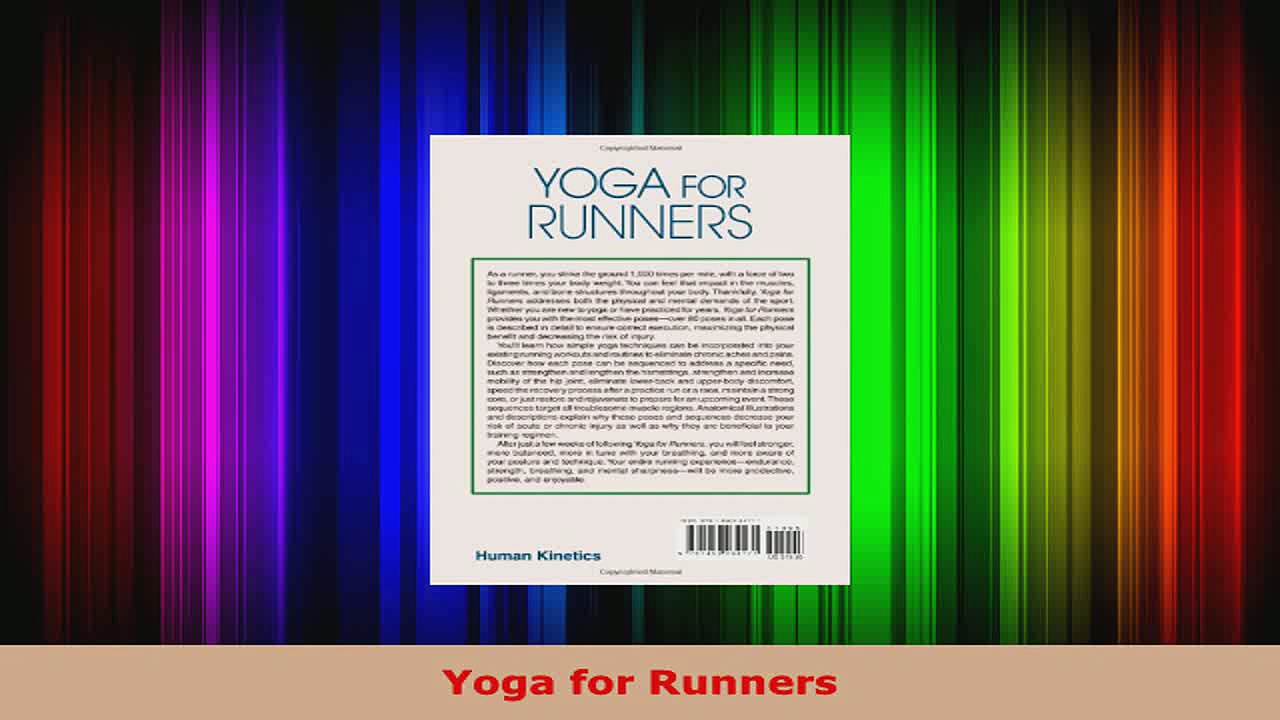 Read  Yoga for Runners Ebook Free