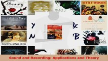 Ebook Sound and Recording: Applications and Theory Free Read - video