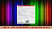 Apache Oozie The Workflow Scheduler for Hadoop PDF