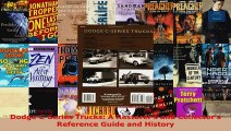 Read  Dodge CSeries Trucks A Restorers and Collectors Reference Guide and History Ebook Free