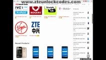 Instant Fast Unlock ZTE Z993 AIO Prelude sim network unlock
