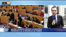 """Valérie Pécresse espère faire de l'Ile-de-France """"la fabrique de nouvelles pratiques politiques"""""""