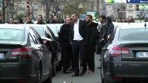Opération escargot de chauffeurs VTC à Paris