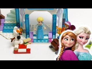 FROZEN Elsa Anna Olaf LEGO -  Elsa's Sparkling Ice Castle - Set 41062