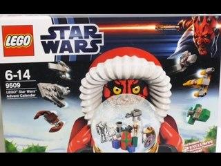 LEGO Star Wars Advent Calendar 9509 Unboxing