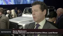 Land Rover Defender 2,000,000 Bonhams Auction - Interview Gerry McGovern, Design Director and CCO, Land Rover