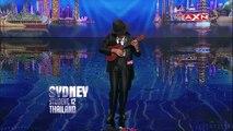 12 Year Olds Amazing Ukulele Playing On Asias Got Talent | Got Talent Global