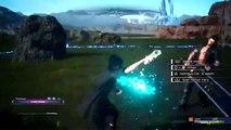 Final Fantasy 15 Gameplay-Characters-Chocobo & Combat Tutorial - Final Fantasy XV Demo